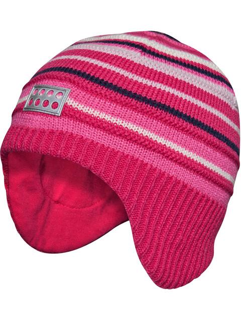 LEGO wear Andrew 714 Hat Kids dark pink